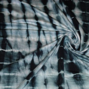bamboo knit shibori black
