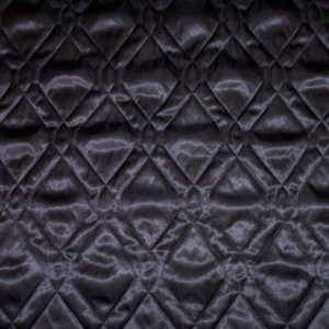 quilted lining black diamond