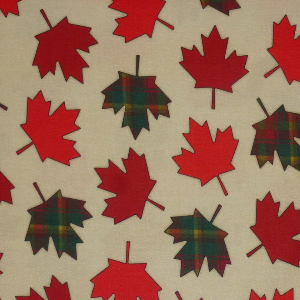 canada 150 maple leaves