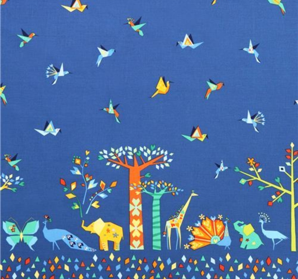 blue-Oasis-Border-animal-border-fabric-Michael-Miller-Origami-Oasis